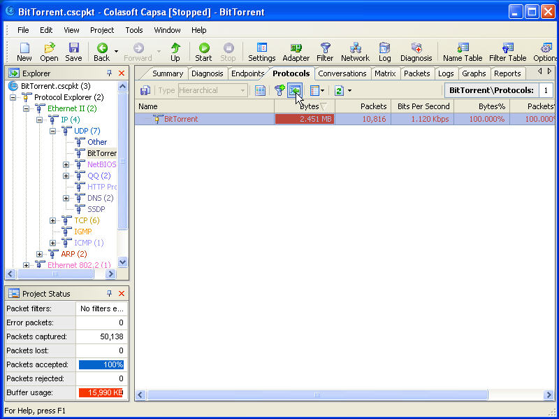 Track BitTorrent User Screenshot 2