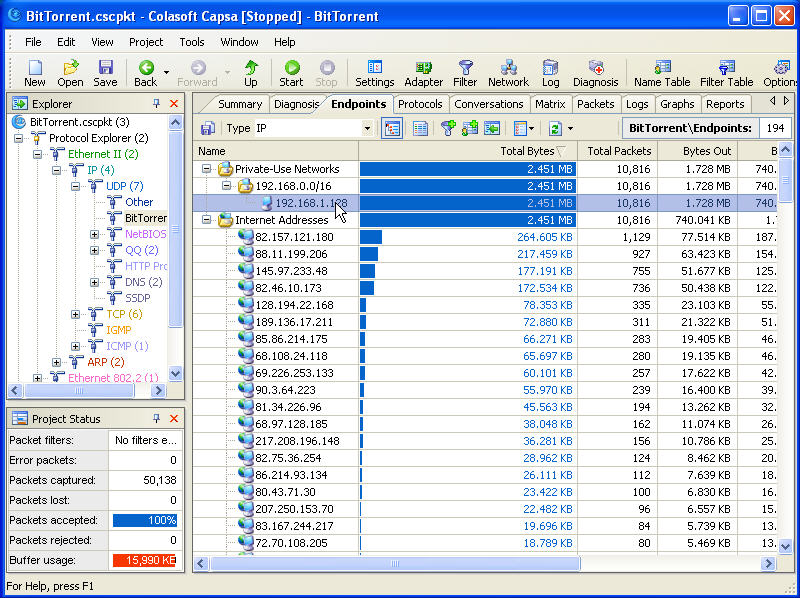 Track BitTorrent User Screenshot 3