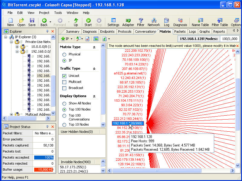 Track BitTorrent User Screenshot 4